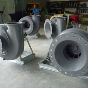 FRP centrifugal fan for export to Iran