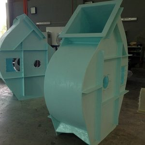 FRP fan housing