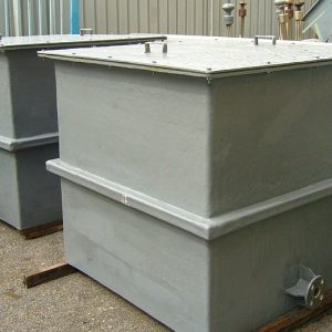 FRP square tank