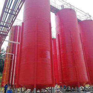 100CBM storage tank made of FRP