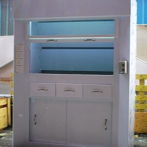 PP fume cupboard for laboratory