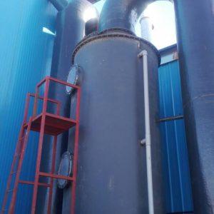 Chlorine scrubber installed in Iran