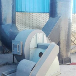 FRP exhaust fan installed in Iran