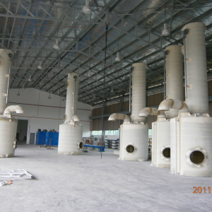 Five sets of chlorine emergency scrubber for export