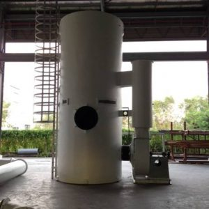 Dry scrubber for export to Brunei